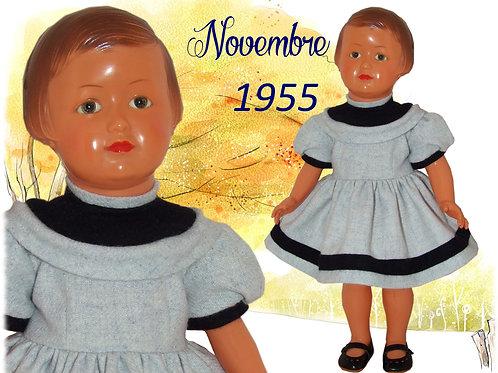 Tenue Françoise Novembre 1955