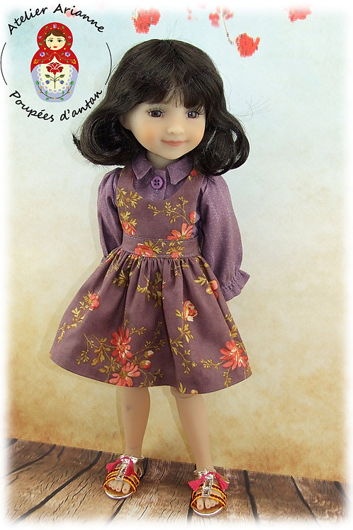 Livia - Tenue pour poupée Ruby Red