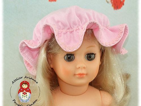 CHARLOTTE Chapeau pour poupée