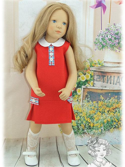 Emma -Tenue pour poupée Finouche de Petitcollin