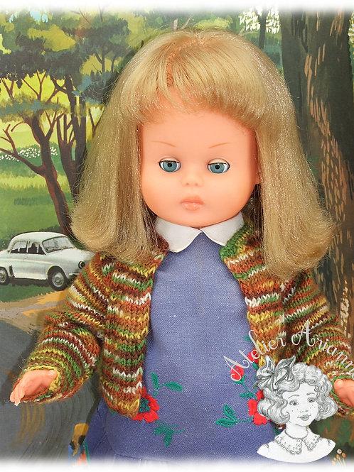 Alicia pull -Tenue pour poupée GéGé