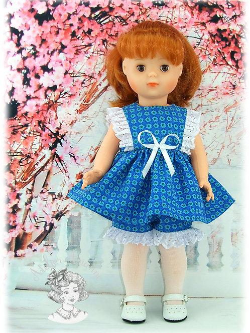 Tenue Rosine pour poupées : Marie-Françoise de M et T et Finouche