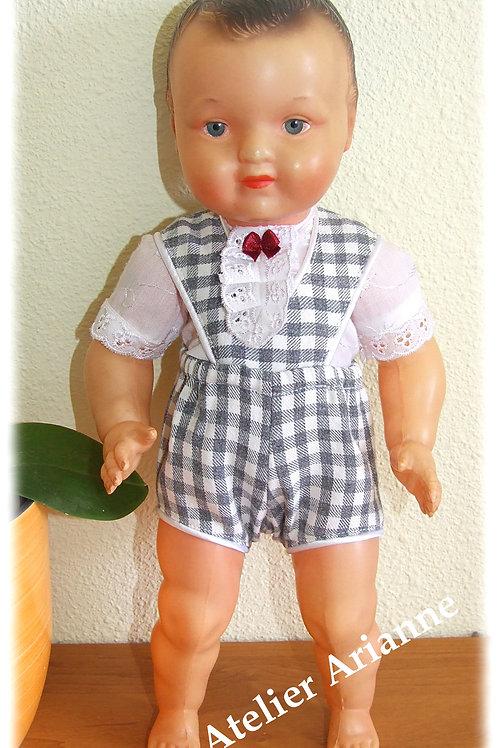 Tenue Felix  pour baigneur, poupée 30-33 cm, Baby Face, Francois, Jacky