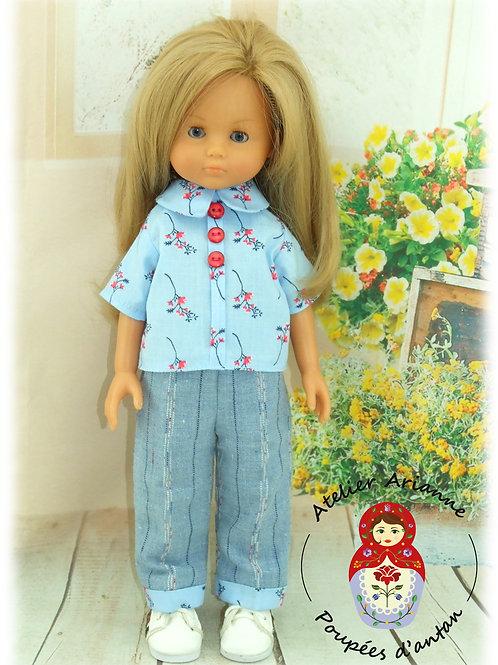 BETINA -Tenue pour poupée Chérie de Corolle