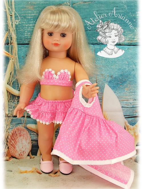Juillet 1961 Tenue pour poupée Emilie Modes et Travaux