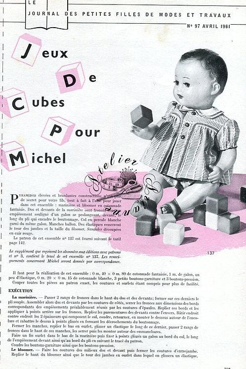 Page Modes et Travaux Avril 1961