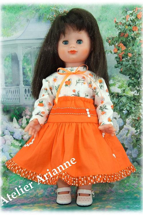 Tenue pour poupée Emilie Modes et Travaux Décembre 2012