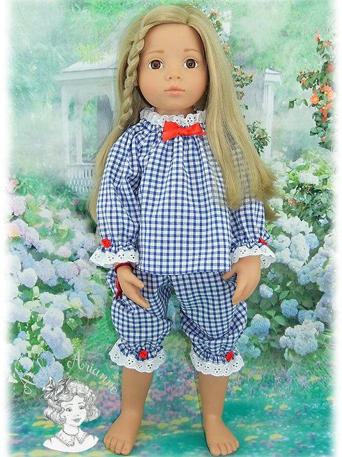 Klarisse-tenue pour poupées Gotz, Maru, American Girl, Reborn de 50 cm