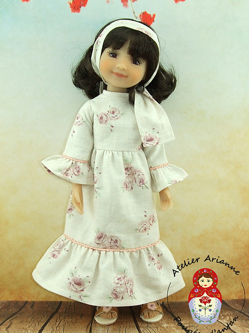 Karolina - Tenue pour poupée Ruby Red