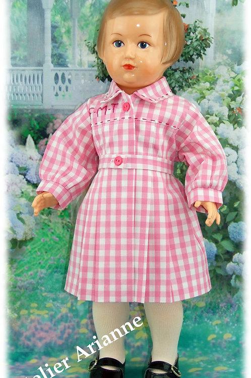 Tenue poupée Modes et Travaux pour Françoise Septembre 1952