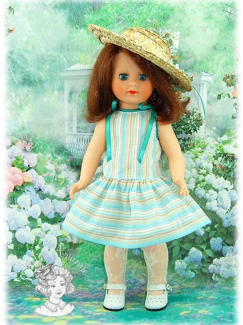 Juin 1984-Tenue pour poupée Marie-Françoise de Modes et Travaux