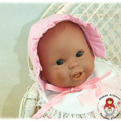 Bonnet pour poupée Corolle - rose