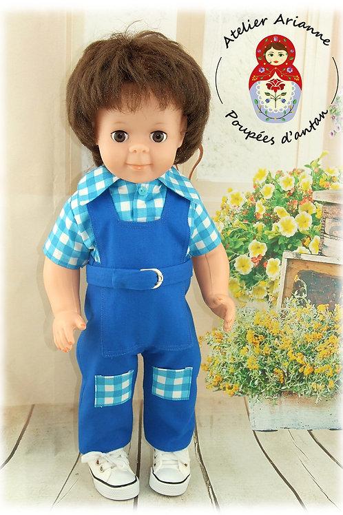 Tenue pour poupée Jean-Michel Juillet 1970
