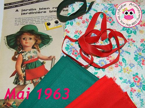 Kit 43 couture Modes et Travaux Françoise,  Mai 1963