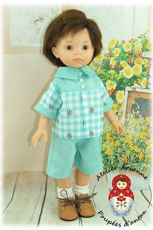 Lucas -Tenue pour poupée  Paola Reina
