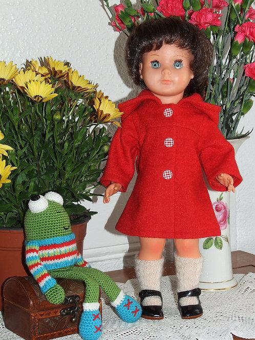 Tenue pour poupée Marie- Françoise Modes et Travaux Novembre 1981