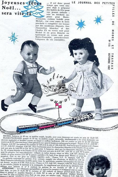 Page Modes et Travaux Octobre 1962