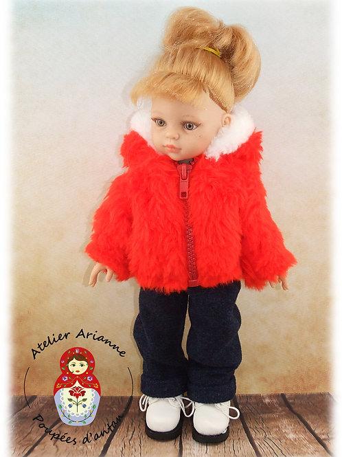 Janvier 1961 Tenue pour poupée Corolle ou Paola Reina