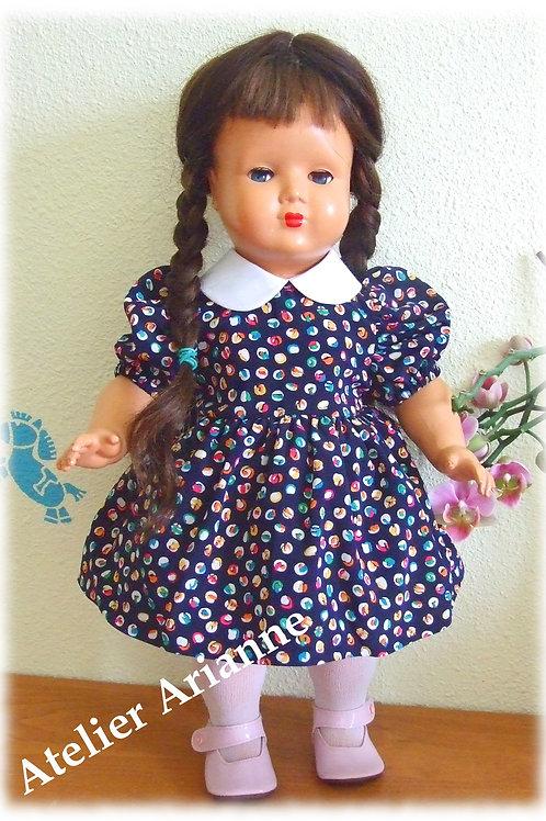 Tenue Léa pour poupée  GéGé 42, Corine