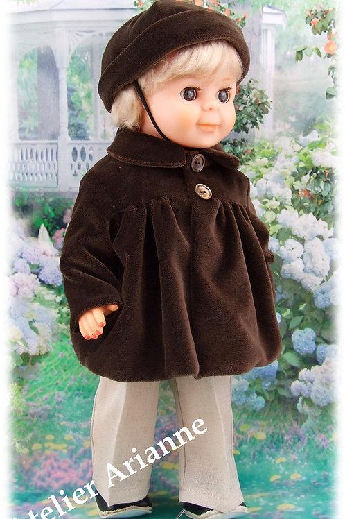Tenue pour poupée Jean-Michel Modes et Travaux décembre 1958