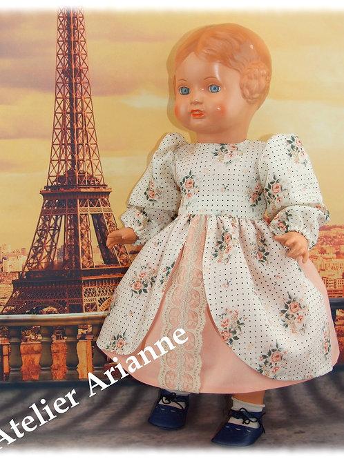Tenue Capucine pour poupées Kidz , Maru, Gotz et 45 cm anciennes
