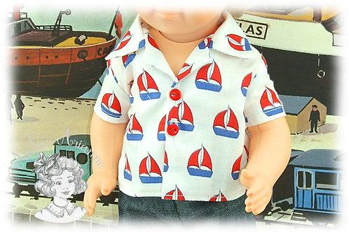 Chemise pour baigneurs 34 cm
