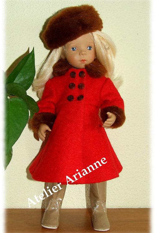 Tenue Abby pour poupées  Little Darling ,Minouche, Corolle 33 cm