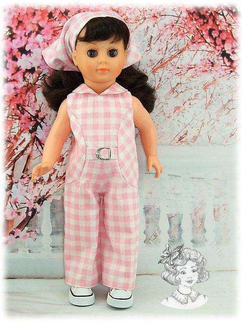 Tenue pour poupée Marie-Françoise Juillet 1970