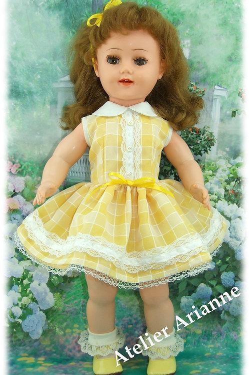 Tenue Caprice pour poupée Raynal  46-50 cm