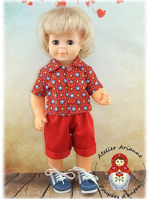 Evan tenue pour poupée Jean-Michel de Modes et Travaux