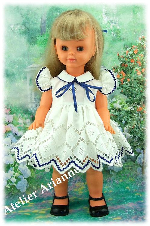 Tenue Paolina pour poupée GéGé ,Bella ... 55-57 cm