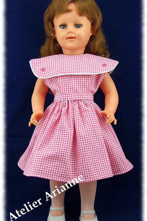 Tenue Eliane pour poupées de 55-60 cm