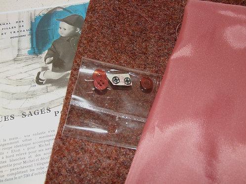 Kit 108 couture Modes et Travaux pour Michel,  Novembre 1961