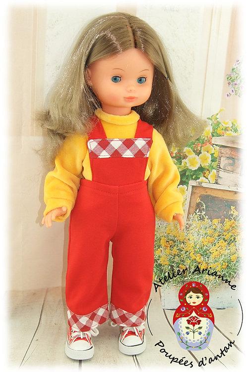 Reproduction de la tenue originale pour poupée Valerie de Bella