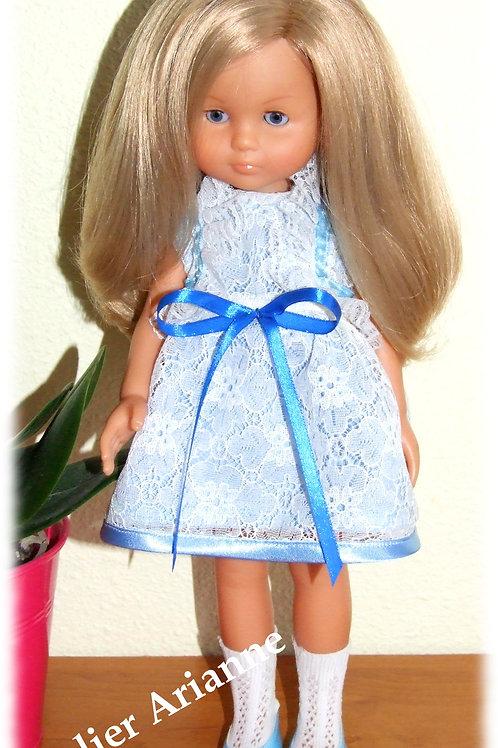 Tenue Agathe pour poupées  Little Darling ,Minouche, Corolle 33 cm