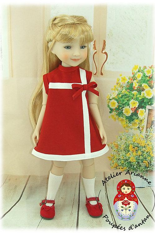 Dolores Tenue pour poupée  Ruby Red