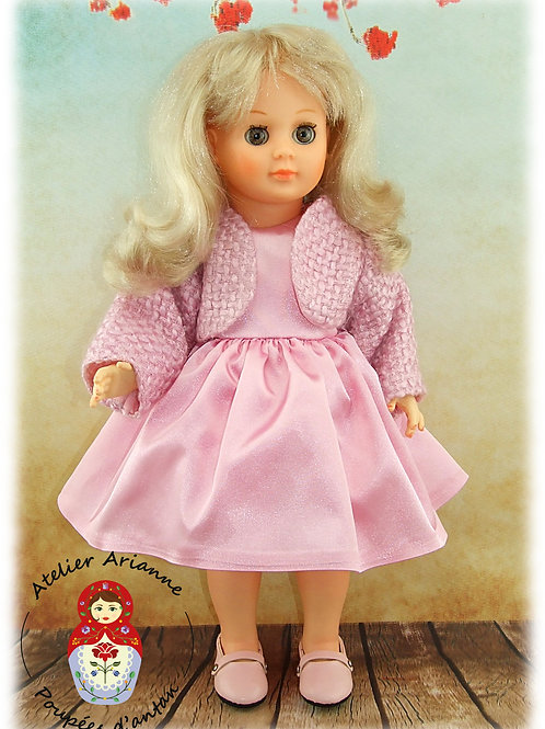 Carolina Tenue pour poupée Françoise de Modes et Travaux