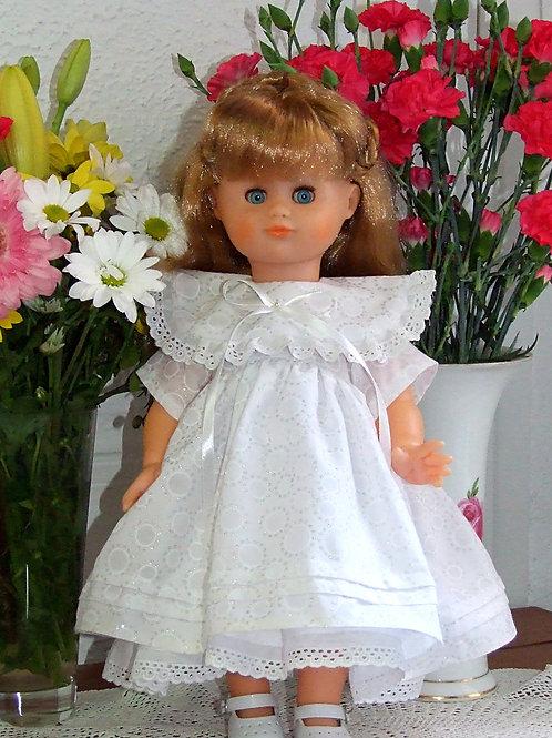 Tenue pour poupée Emilie Modes et Travaux Avril 1990
