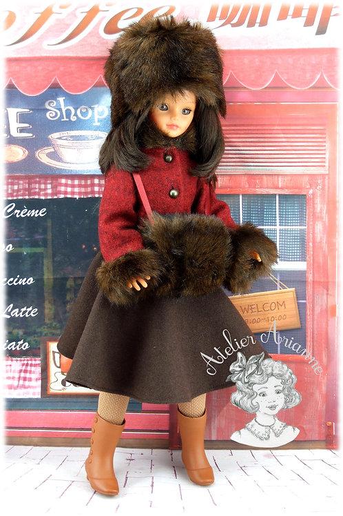 Novembre 1982 Tenue pour poupée Cathie de Bella