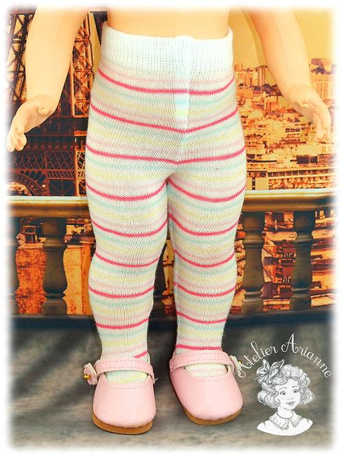 Nr 19 Collant en jersey pour poupées de Modes et Travaux , Kattie de Raynal