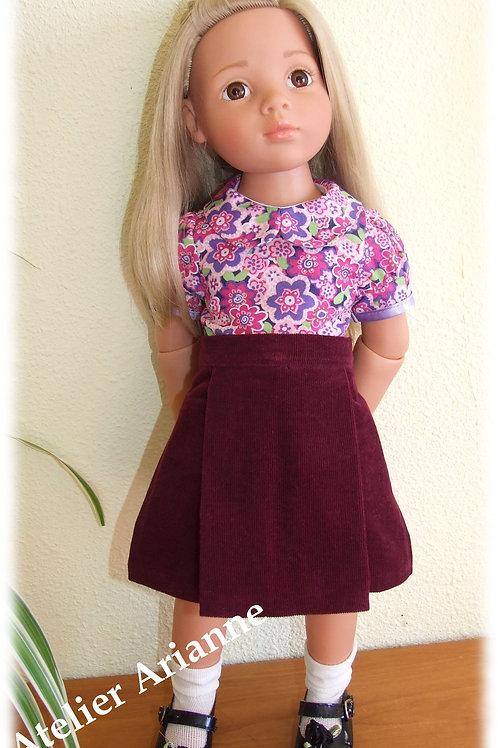 Chemise pour poupée Gots, Maru, Kidz'n'Cats, Zwergnase 46-50 cm