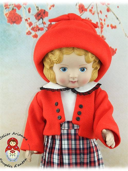 Clara Tenue pour poupées: Daisy Kingdom de 50 cm