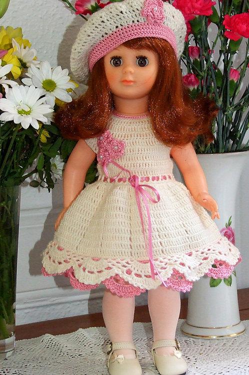 Tenue pour poupée Francette Modes et Travaux