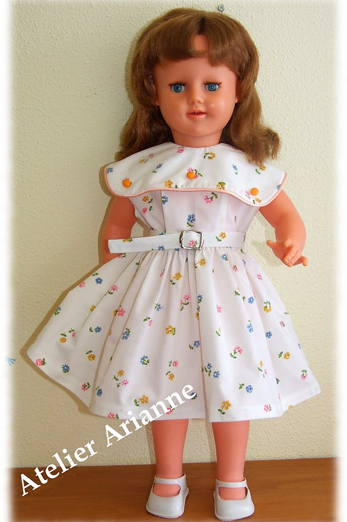 Tenue Eliane pour poupées de 56-60 cm