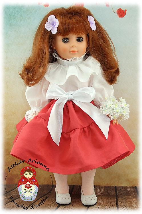 Avril 1982 Tenue pour poupée Marie-Françoise de Modes et Travaux