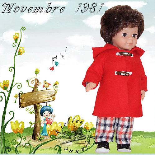 Tenue pour Jean-Michel Novembre 1981