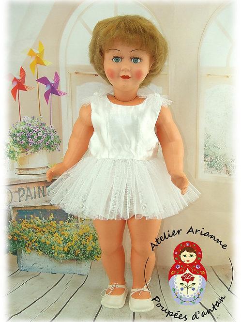 BALLERINA février 1954 Tenue pour poupée 60 cm