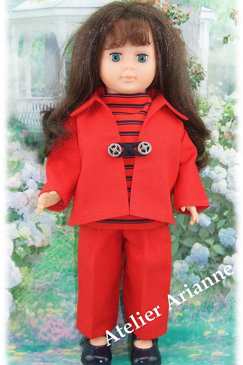 Tenue pour poupée Marie-Françoise Modes et Travaux Juin 1966
