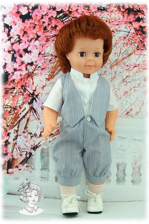Mars 1982-Tenue pour poupée Jean-Michel de Modes et Travaux