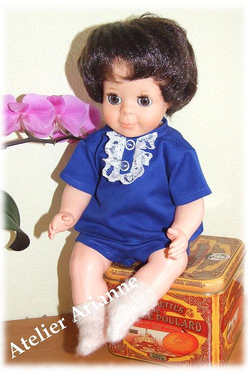 Tenue pour poupée Michel Modes et Travaux Octobre 1968